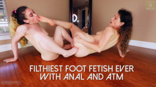 LilyLou MANYVIDS LilyLou in Girl Girl Anal ATM Foot Fetish [ MANYVIDS ]