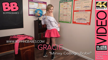 Boppingbabes Gracie  Minxy College Babe