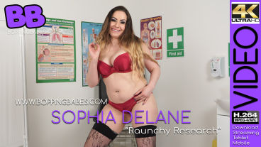 Boppingbabes Sophia Delane  Raunchy Research