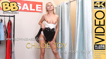 Boppingbabes Chloe Toy  Fitting Room Strip