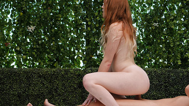 Netvideogirls Natural Redhead!