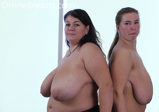 DivineBreasts Monica and Ashley Big Boobs