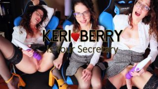 MANYVIDS KeriBerry in Keri Berry is Your Secretary