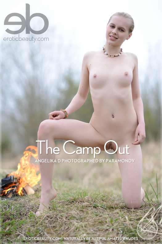 Erotic-Beauty Angelika D in The Camp Out