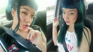 MANYVIDS LittlePuck in BIG SIS IN THE BACKSEAT – TABOO AUDIO I