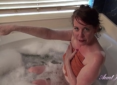 Auntjudys Joining Auntie Brie in the Bathtub