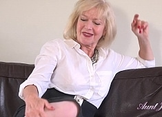 Auntjudys Auntie Louise Wants You to Jerk Off For Her