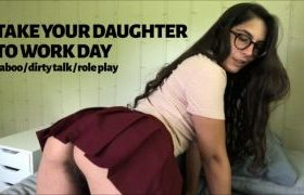 MANYVIDS LanaTy in TAKE YOUR DAUGHTER TO WORK DAY