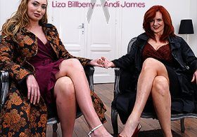 MATURE NL update   13274 hot milf andi james loves scissoring with her way younger girlfriend liza