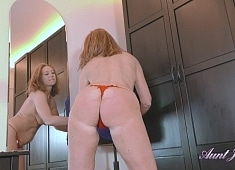 Auntjudys Marta Dressing Room Masturbation