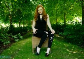 Skintightglamour Kloe Kane Cute In A Catsuit