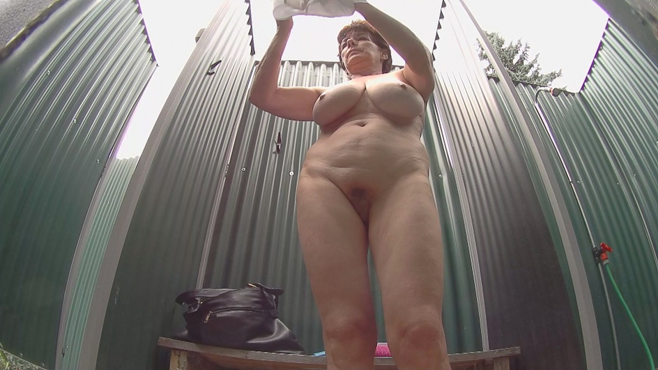 Mature lady with massive tits  Preview