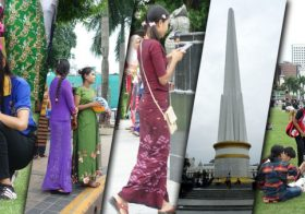 Asiansexdiary Yangon Park Girls Spotted En-Masse