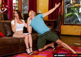 Naughty America My Friend's Hot Mom Bianca Burke Porn star Bianca Burke teaches some acting and fucking lessons  Oct 8, 2019