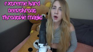 MissPrincessKay in Extreme Hard Deepthroat Throatpie Magic  Preview