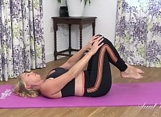 Auntjudys Abi Yoga Workout & Masturbation