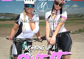 MATURE NL update   13502 these old and young lesbians get wet and wild during a bike ride