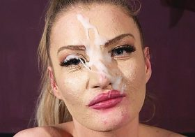 Cumperfection Evie Love in Champion's Facial