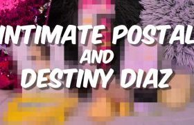 MANYVIDS DestinyDiaz in Intimate Postal Collaboration