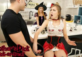 MomsTeachSex Haley Reed in BrothersDickTrickOrTreat-S11:E7