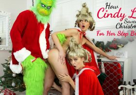 NubilesET Chloe Cherry in HowCindyLouSavedChristmasForHerStepBrother-S3:E6
