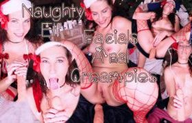 MANYVIDS KeriBerry in Naughty Elf Facial Anal Creampie