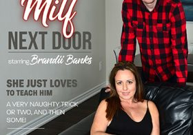 MATURE NL update   13592 hot milf invited the younger guy next door for some hard fucking