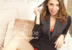 MATURE NL update   13628 hot mom french chloe loves to please herself when she s alone