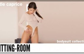 Fittingroom fittingroom in Caprice turns on wearing thong bodysuit [ MANYVIDS ]