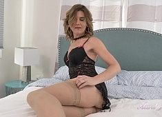 Auntjudys Alby Stockings & Lingerie Bedroom Play