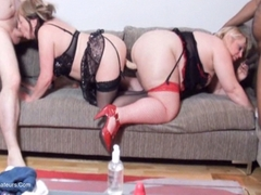TacAmateurs Lexie Cummings – Double Ender On The Sofa HD Video
