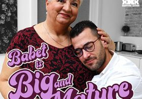 MATURE NL update   13627 he loves the big curves from mature babet