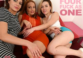 MATURE NL update   12559 three ladies who love to play with eachother also love to share a hard cock