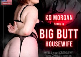 MATURE NL update   13661 big butt housewife kd morgan playing with her vibrator