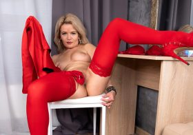 Anilos Water Fire in Ravish Me Red