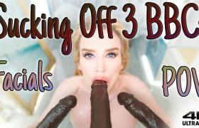 MANYVIDS RoxyCox in POV Triple BBC Blowbang