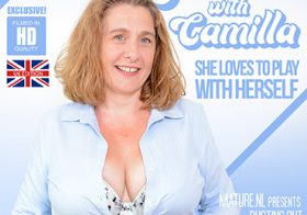 MATURE NL update   13011 big breasted camilla loves to play with her pussy when she s alone