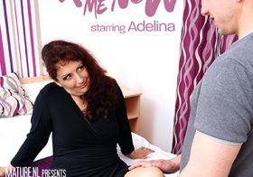 MATURE NL update   6074 horny mature adelina loves to fuck her brains out in bed