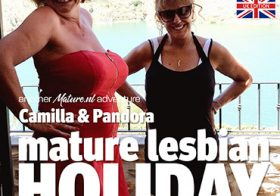 MATURE NL update   13509 it s a mature lesbian holiday under the blazing sun