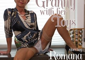 MATURE NL update   13525 this granny is naughty and alone wonder what she will do next
