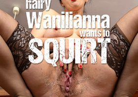 MATURE NL update   13716 sexy hairy wanilianna loves to masturbate until she squirts