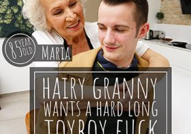 MATURE NL update   13623 our toyboy is in for a treat with 85 year old hairy granny maria