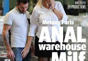 MATURE NL update   13724 tall milf melany paris is in for a hard anal session in the warehouse she works at