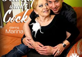 MATURE NL update   6208 horny granny seducing a young man for her own filthy pleasures