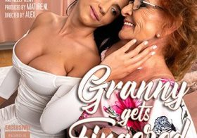 MATURE NL update   13739 granny katalina gets fingered and more by hot young lesbian nelly kent