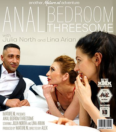 update   13687 two mature ladies share a lucky guy for an anal threesome  Preview