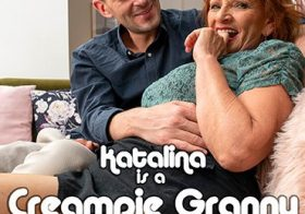 MATURE NL update   13743 granny katalina is getting a creampie from her younger suitor
