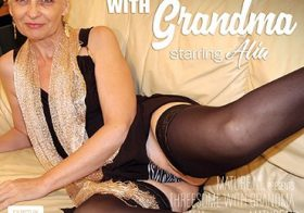 MATURE NL update   13805 horny granny is the spread in a hot threesome