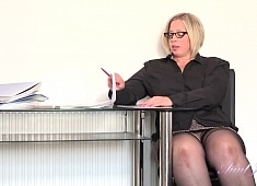 Auntjudys Star Gets Naughty in the Office