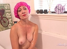 Auntjudys Auntie Kitty Bathtub Blowjob POV